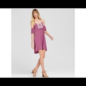 Knox Rose Embroidered Boho Dress